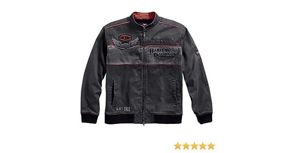 HARLEY-DAVIDSON® Mens Iron Block Casual Jacket - 98577-17VM