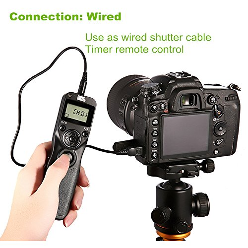 PIXEL TW-283 L1 Wireless Remote Control Wired Shutter Release Cable for Panasonic Cameras by PIXEL (Image #5)