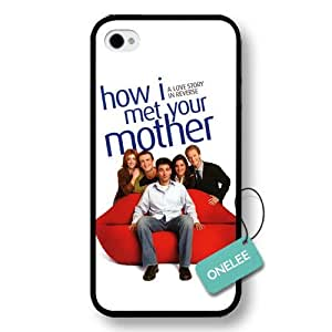 diy case - How I Met Your Mother Hard Plastic iPhone 4s Case & Cover - How I Met Your Mother iPhone 4 Case - Black 1