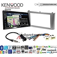 Volunteer Audio Kenwood DNX574S Double Din Radio Install Kit with GPS Navigation Apple CarPlay Android Auto Fits 2000-2003 Nissan Maxima (Without Bose)