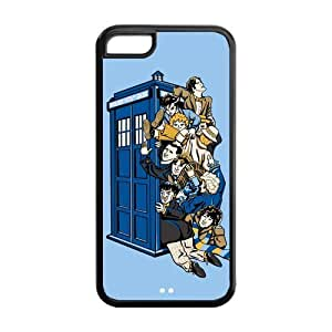 Doctor Who Solid Rubber Customized Cover Case for iPhone 5c 5c-linda273