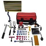 PDR Tool Set Paintless Dent Repair Bridge Puller Glue Gun Glue Tabs Dent Removal