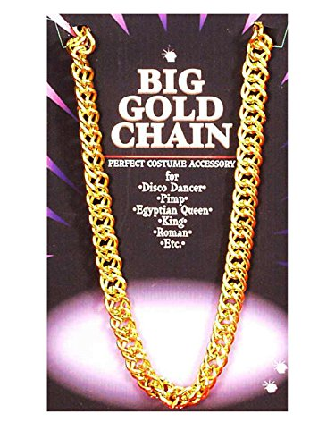 Big Gold Chain - Big Costumes Jewelry Necklaces