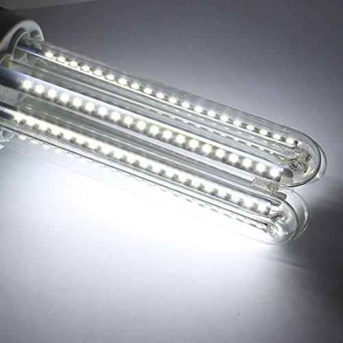 sourcingmap® 30W LED Lámpara de maíz de iluminación doméstica E40 2835SMD tipo U Lámpara de ahorro de energía pura blanco: Amazon.es: Bricolaje y ...