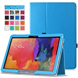 Moko Samsung Galaxy Note PRO & Tab PRO 12.2 Case - Slim Folding Cover Case for Galaxy NotePRO (SM-P9000) & TabPRO (SM-T900 / T905) 12.2 Android Tablet, BLUE