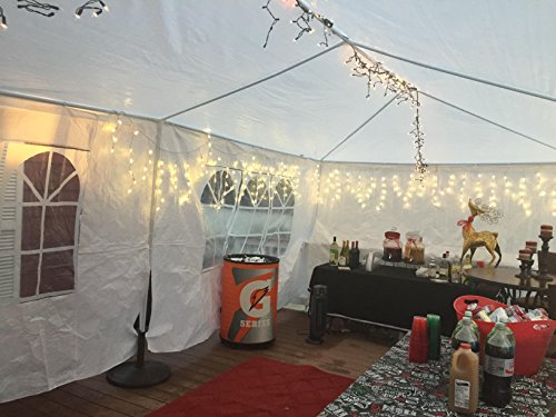PeaktopR 20x10 Heavy Duty Outdoor Canopy Gazebo Party Wedding Tent Pavilion W
