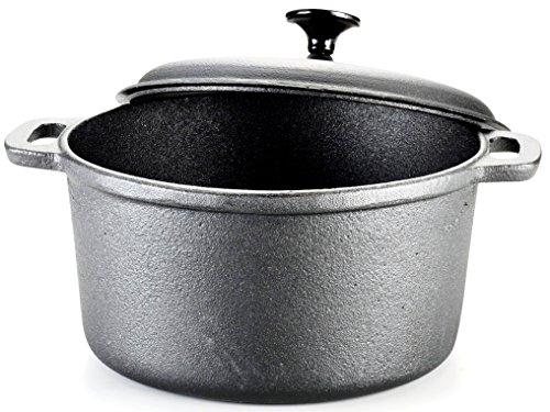 T fal E83452 Pre Seasoned Cookware 6 Quart