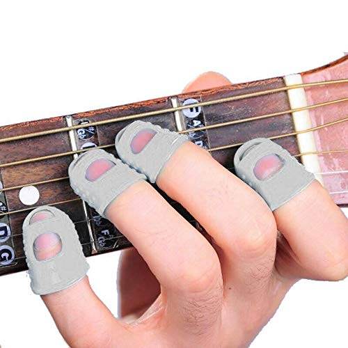 Ankidz Guitar Fingertip Protectors Silica Gel Inger Guards for from Ankidz