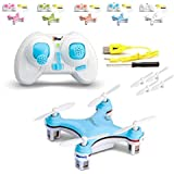 Top Race 4 Channel Micro Quad Copter TR-MQ1 Smallest Quad Copter in the World (Colors Vary)