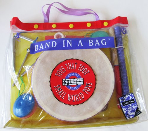 Band Instruments in a Bag Kid's Toys that Toot