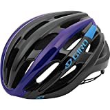 Cheap Giro Foray Road Cycling Helmet Black/Blue/Purple Medium (55-59 cm)
