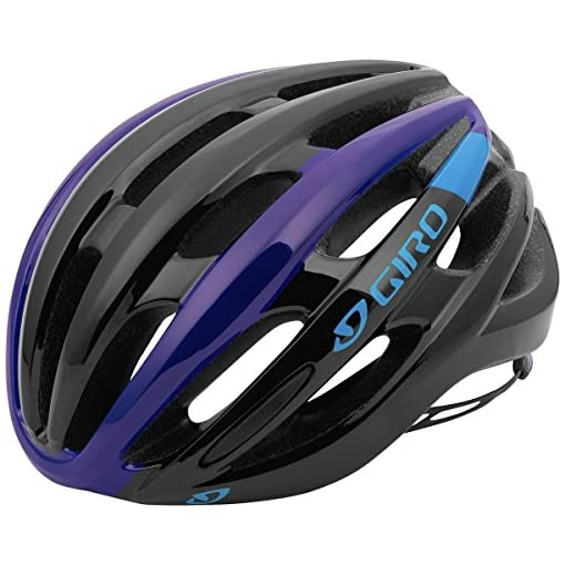 Giro-Foray-Road-Cycling-Helmet-BlackBluePurple-Medium-55-59-cm