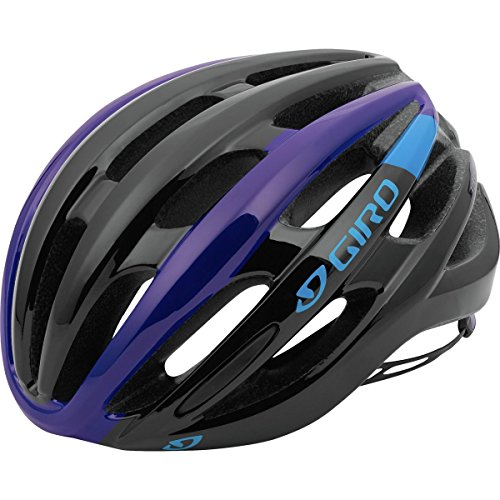 Giro Foray Road Cycling Helmet Black/Blue/Purple Small (51-55 - Bicycle Giro Helmet Blue