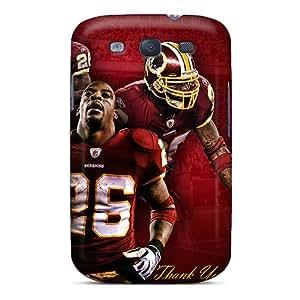 Hard Protect Phone Case For Galaxy S3 (cAF6675rMvt) Customized High Resolution Washington Redskins Skin