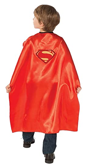 Superman y villano capa reversible. Niño un tamaño. Una capa ...