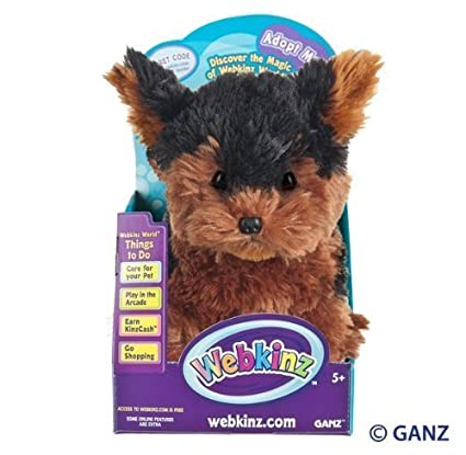 Amazoncom Webkinz Teacup Yorkie In Box Toys Games