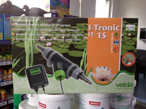 Velda I-Tronic IT-15 Fadenalgen & Schleimalgen Vernichter Aktuellste Version 2013
