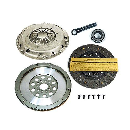 SACHS-EFT STAGE 1 DISC CLUTCH KIT+RACE FLYWHEEL VW GOLF GTI JETTA PASSAT 2.8L VR6 (Performance Disc Clutch Kit)