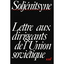 Lettre aux dirigeants d'Union Soviétique