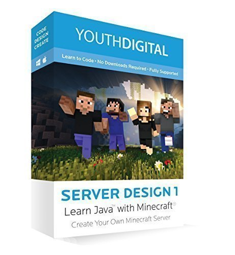 Youth Digital Server Design 1 - Online Course for MAC/PC (1 Online 1)