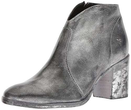 FRYE Women's Nora Zip Short Ankle Boot, Black/Multi, 7 M US