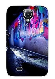 New Dubstep Graffiti Tpu Case Cover, Anti-scratch EBksCEo2842ryEWJ Phone Case For Galaxy S4 With Design