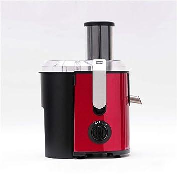 WLIXZ Extractor de jugos de masticación, máquina exprimidor de prensado en frío, Motor silencioso