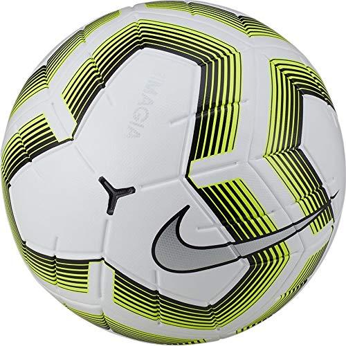 Nike Magia Team II NFHS Soccer Ball- (White/Black/Volt) (5)