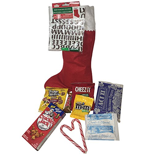 Candy filled Christmas/Easter Stocking (Personalized Microwave Popcorn)