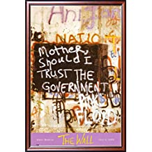 FRAMED Pink Floyd - West Berlin Wall Live 24x36 Poster Dry Mounted in Executive Series Walnut Wood Frame With Gold Lip - Crafted in USA