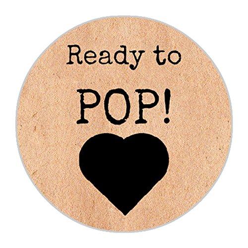 44th Street 12 Vintage Ready To Pop Baby Shower Love Heart Do It Yourself Sweet Favour Party Bags