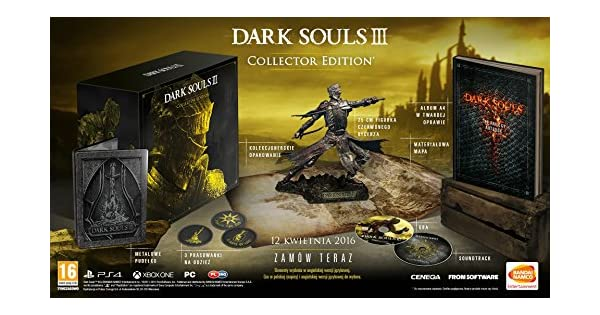 Namco Bandai Games Dark Souls 3 Collector Edition - Juego (Xbox ...