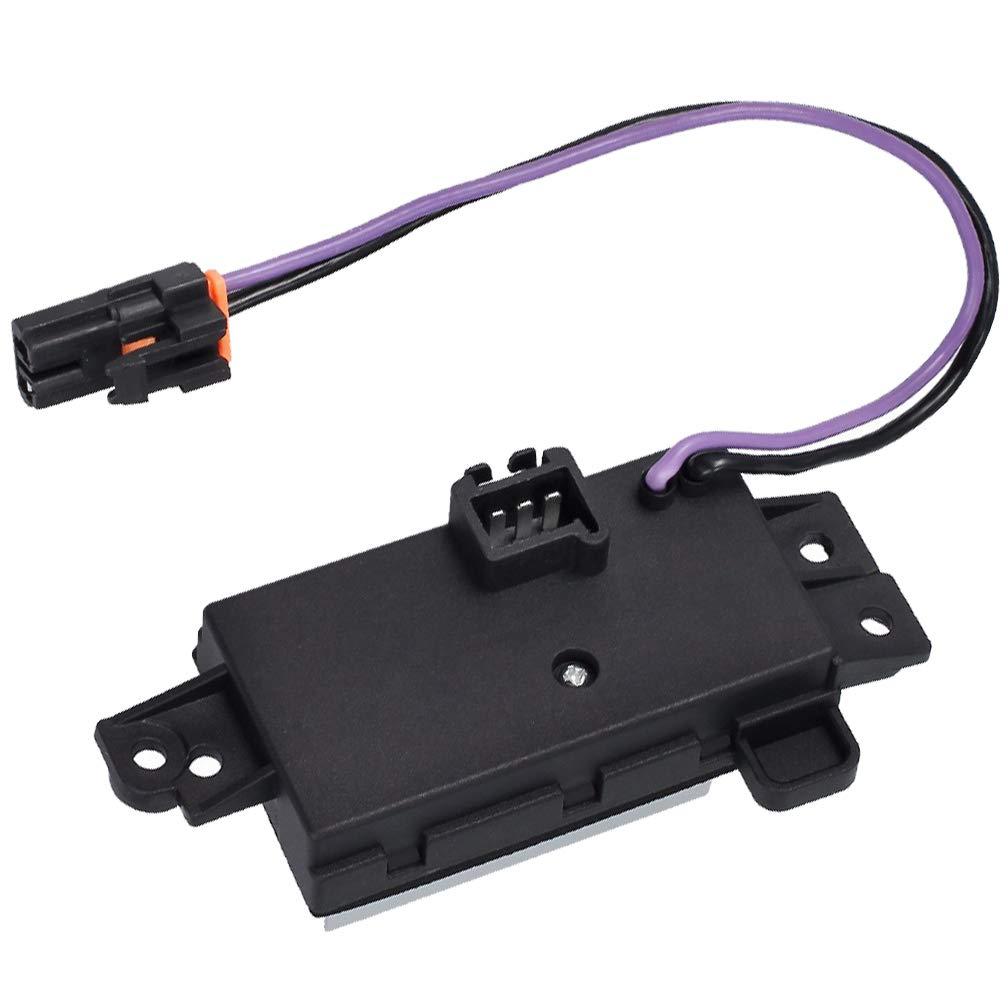 4P1516 Blower Resistor AC Blower Control Module replace RU1321 JA1639 BR532 RU-631 MT1805 52495874 52409643 for Chevy Silverado Trailblazer GMC Buick Cadillac Upgraded Design Resistor by KAREN