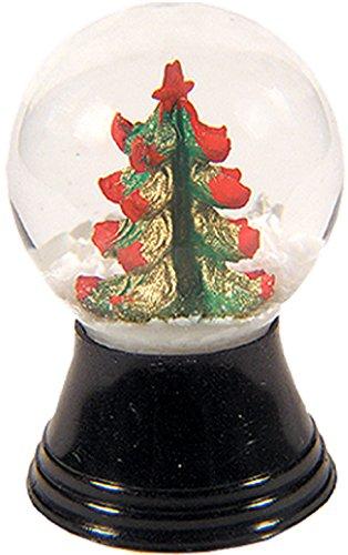 Alexander Taron Importer PR1169 Perzy Decorative Snowglobe with Mini Christmas Tree, 1.5