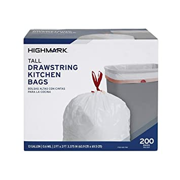 Amazon.com: Office Depot bolsas de basura, 13 Litros, caja ...