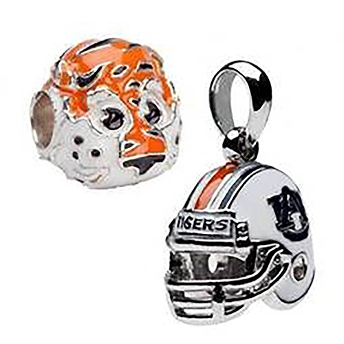 arms | AU Aubie the Tiger and AU Helmet Charms | Officially Licensed Auburn University Jewelry | Auburn Football | AU Charms | Auburn Gifts | AU Jewelry | Stainless Steel (Auburn Tigers Womens Stainless Steel)