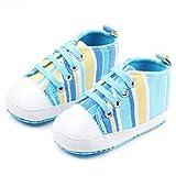CHANTOO Infant Walking Canvas Sneaker for Girl/Boy