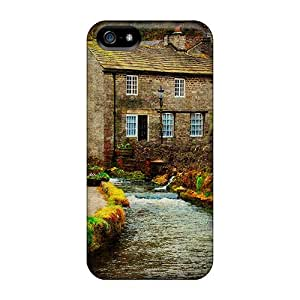 KOTCrQA2456rMMfx Anti-scratch Case Cover ShaCke Protective Pretty Houses Case For Iphone 5/5s