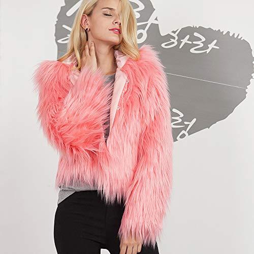 Para De Abrigo Camisetas Calientes Sólido Señoras Color Invierno 5pUwRR