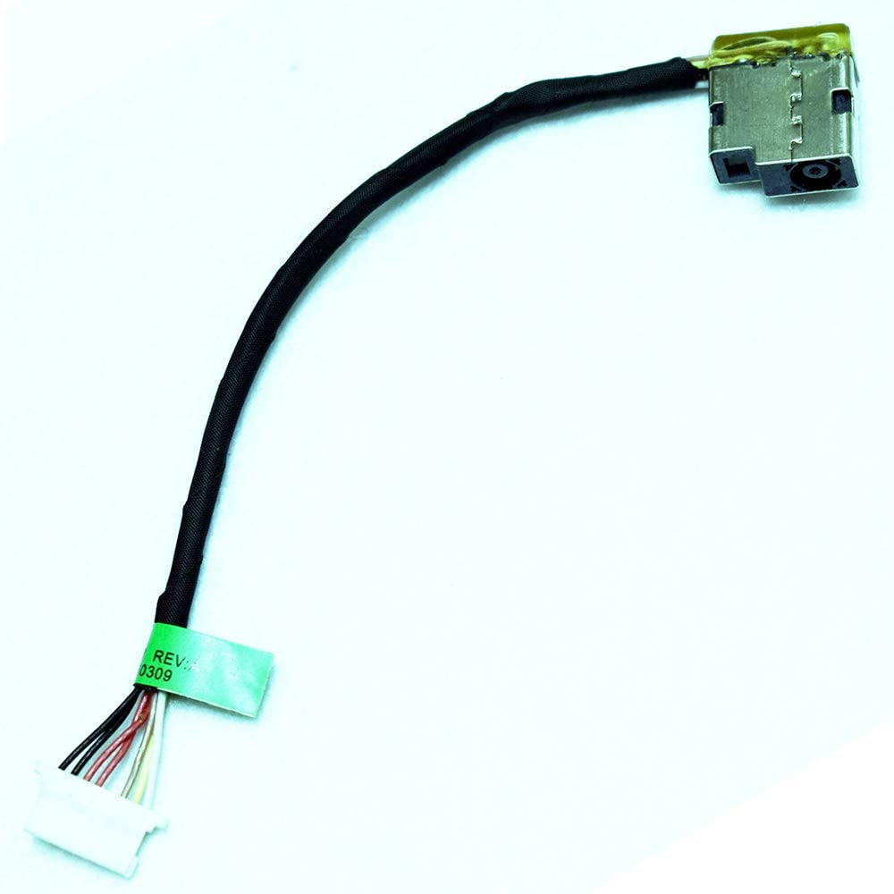 Rangale Dc_in Power Jack Harness Plug Cable Replacement for HP Pavilion 15-ac010nr 15-AC000 Series Laptop 799736-F57