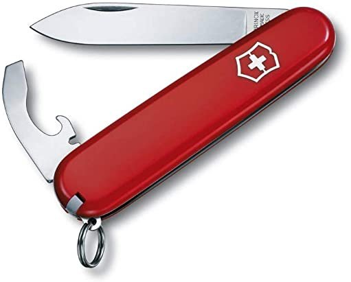 Victorinox Bantam Red – Swiss Army Pocket Knife 84 mm – 8 Tools