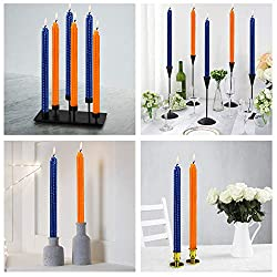Opeshar Taper Candles, Set of 4 Smokeless Dripless