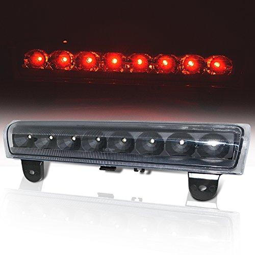 (Rxmotor Chevy Suburban Tahoe Yukon XL Denali LED Replacement 3rd Brake Light Tail Cargo Lamp Black)
