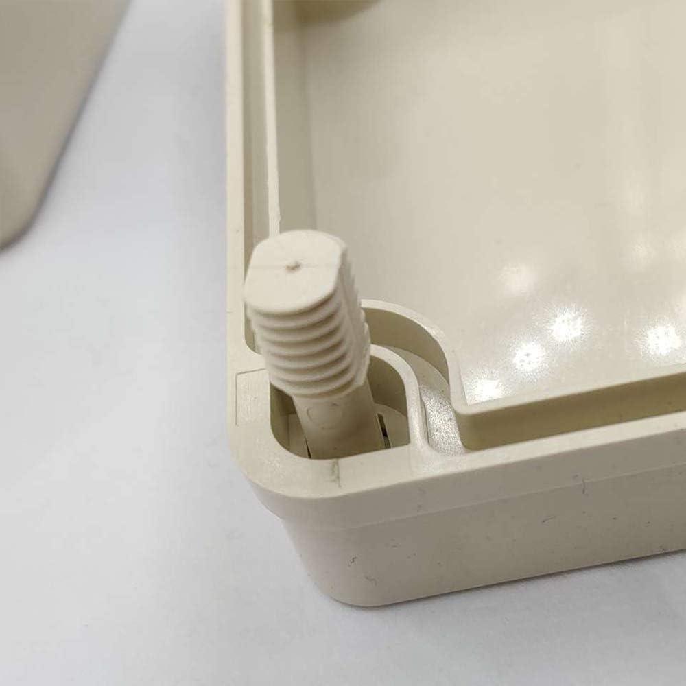 Cajas de Conexiones Impermeables para Proyectos Electr/ónicos Caja de Controlador de Temperatura Etc Unidades de Fuente de Alimentaci/ón Caja de Terminales de La Caja El/éctrica Del Abs