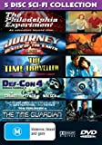 Sci-Fi Collection (5 Films) - 2-DVD Set ( Def-Con 4 / The Time Guardian / Journey to the Center of the Earth / The Time Traveller / The Philadelphia Experiment ) ( Defense Conditio [ NON-USA FORMAT, PAL, Reg.0 Import - Australia ]