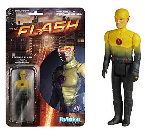 Funko Reaction Flash TV Series Reverse Flash 3 3/4 Inch Action Figure (Reverse Flash Action Figure)