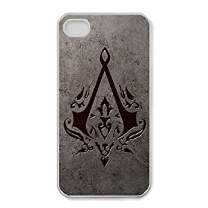 iphone4 4s phone cases White Assassin's Creed fashion cell phone cases TRUG1010117