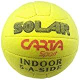 Cartasport Unisex's Solar' Indoor 5-A-Side Football, Green, Size 4