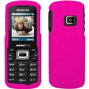 Rubberized Hard Case Cover For Kyocera Presto S1350 - Rose Pink