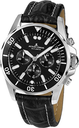 Jacques Lemans LIVERPOOL 1-1907ZA Mens Chronograph very sporty